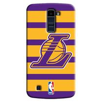 Capa de Celular NBA - LG K10 TV K430 - Los Angeles Lakers - E02