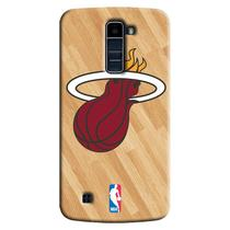 Capa de Celular NBA - LG K10 TV K430 - Miami Heat - B18
