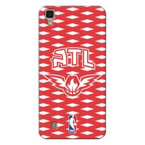Capa de Celular NBA - LG X Power K220 - Atlanta Hawks - E04