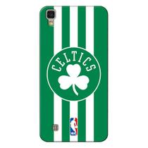 Capa de Celular NBA - LG X Power K220 - Boston Celtics - E21