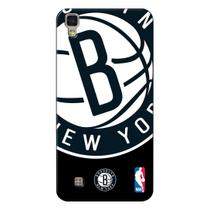 Capa de Celular NBA - LG X Power K220 - Brooklyn Nets - D03