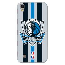 Capa de Celular NBA - LG X Power K220 - Dallas Mavericks - E10