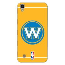 Capa de Celular NBA - LG X Power K220 - Golden State Warriors - E11