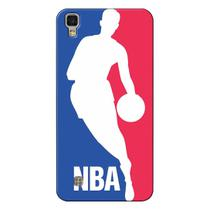 Capa de Celular NBA - LG X Power K220 - Logo Man - F01