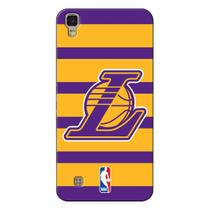 Capa de Celular NBA - LG X Power K220 - Los Angeles Lakers - E02