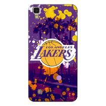 Capa de Celular NBA - LG X Power K220 - Los Angeles Lakers - F03