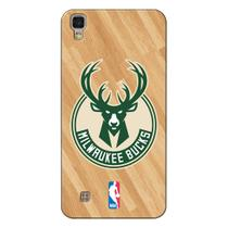 Capa de Celular NBA - LG X Power K220 - Milwaukee Bucks - B19