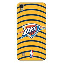 Capa de Celular NBA - LG X Power K220 - Oklahoma City Thunder - E25