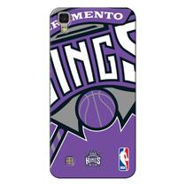Capa de Celular NBA - LG X Power K220 - Sacramento Kings - D28 -
