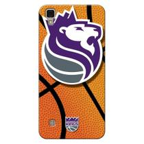 Capa de Celular NBA - LG X Power K220 - Sacramento Kings - NBAG26