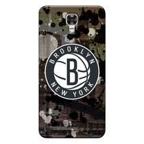 Capa de Celular NBA - LG X Screen K500 - Brooklyn Nets - F09 -