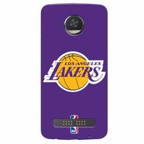 Capa de Celular NBA - Motorola Moto Z2 Play XT1710 - Los Angeles Lakers - NBAA16 - Lenovo
