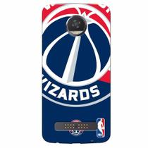 Capa de Celular NBA - Motorola Moto Z2 Play XT1710 - Washington Wizards - D14 - Lenovo