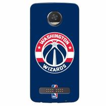 Capa de Celular NBA - Motorola Moto Z2 Play XT1710 - Washington Wizards - NBAA33 - Lenovo