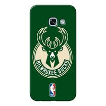 Capa de Celular NBA - Samsung Galaxy A7 2017 Milwaukee Bucks - NBAA20
