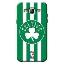 Capa de Celular NBA - Samsung Galaxy J5 J500 - Boston Celtics - E21