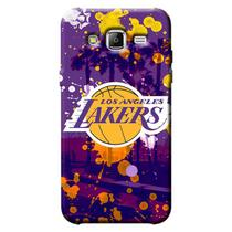 Capa de Celular NBA - Samsung Galaxy J5 J500 - Los Angeles Lakers - F03