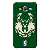 Capa de Celular NBA - Samsung Galaxy J5 J500 - Milwaukee Bucks - A20