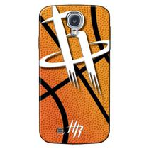 Capa de Celular NBA - Samsung Galaxy S4 i9505 - Houston Rockets - NBAG11