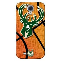 Capa de Celular NBA - Samsung Galaxy S4 i9505 - Milwaukee Bucks - NBAG17
