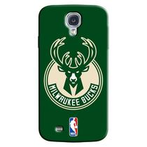 Capa de Celular NBA - Samsung Galaxy S4 - Milwaukee Bucks - A20