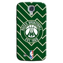 Capa de Celular NBA - Samsung Galaxy S4 - Milwaukee Bucks - E14