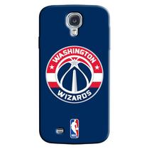 Capa de Celular NBA - Samsung Galaxy S4 - Washington Wizards - A33