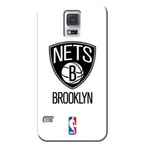 Capa de Celular NBA - Samsung Galaxy S5 - Brooklyn Nets - A03