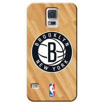 Capa de Celular NBA - Samsung Galaxy S5 - Brooklyn Nets - B03