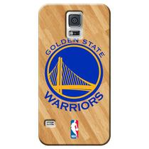 Capa de Celular NBA - Samsung Galaxy S5 - Golden State Warriors - B10