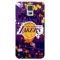 Capa de Celular NBA - Samsung Galaxy S5 - Los Angeles Lakers - F03