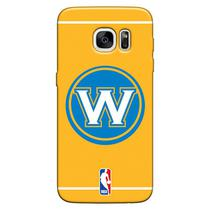 Capa de Celular NBA - Samsung Galaxy S6 Edge - Golden State Warriors - E11