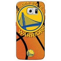 Capa de Celular NBA - Samsung Galaxy S6 Edge - Golden State Warriors - NBAG10