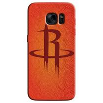 Capa de Celular NBA - Samsung Galaxy S6 Edge - Houston Rockets - C11