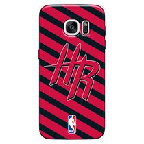 Capa de Celular NBA - Samsung Galaxy S6 Edge - Houston Rockets - E12 - Matecki