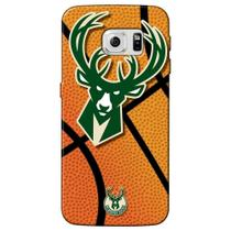Capa de Celular NBA - Samsung Galaxy S6  - Milwaukee Bucks - NBAG17