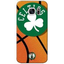 Capa de Celular NBA - Samsung Galaxy S7 -  Boston Celtics - NBAG02 -