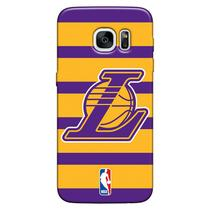 Capa de Celular NBA - Samsung Galaxy S7 G930 - Los Angeles Lakers - E02 - Matecki