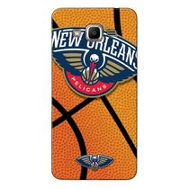Capa de Celular NBA - Samsung J2 Prime  - New Orleans Pelicans - NBAG19 -