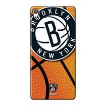 Capa de Celular NBA - Sony Xperia Xa  - Brooklyn Nets - NBAG03 -
