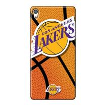 Capa de Celular NBA - Sony Xperia Xa -  Los Angeles Lakers - NBAG14