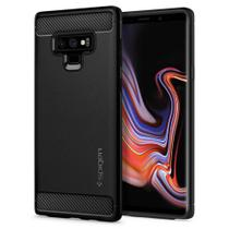 Capa de Celular Spigen Samsung Galaxy Note 9 Rugged Armor Black - 599CS24572
