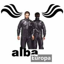 Capa De Chuva Conjunto Motoqueiro Alba Europa Preta TAMANHO EG -