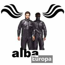 Capa De Chuva Conjunto Motoqueiro Alba Europa Preta  - tamanho g -