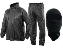 Capa de Chuva Delta Flex PVC Motociclista Motoboy + Balaclava -