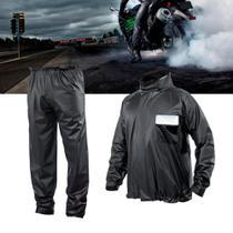 bf4e56b3813 Capa de Chuva impermeável Motoqueiro Motoboy Moto Tamanho G - Racechrome
