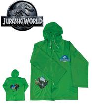 Capa De Chuva Infantil G GG Jurassic World Verde Dinossauro - Art brink