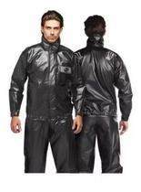 Capa de chuva moto motoboy alba europa com gola pvc -