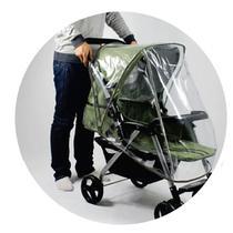 Capa De Chuva Para Carrinho De Bebê Clingo C2107 -