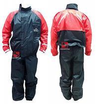 Capa de Chuva PB Preta com Vermelho - Serjão Motopeças